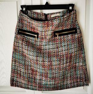 NWOT Loft Tweed skirt xxs petite